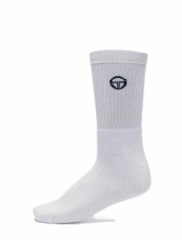 Sergio Tacchini Носки Logo Socks белый