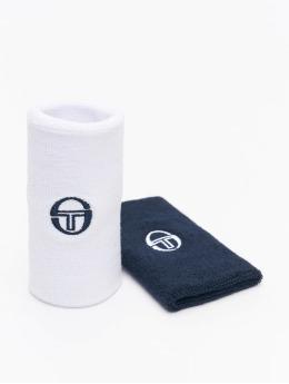 Sergio Tacchini Autres Tennis Wristband 2 Pack blanc