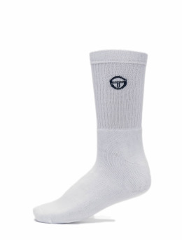 Sergio Tacchini Sokker Logo Socks hvit