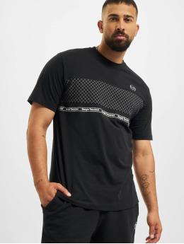 Sergio Tacchini T-Shirt Noden  schwarz