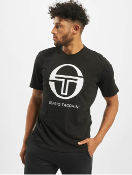 Sergio Tacchini T-Shirty Iberis czarny