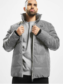 Sergio Tacchini Winter Jacket Dhule silver colored