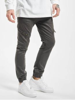 SHINE Original Cargo pants Curved Leg šedá