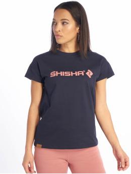 Shisha  T-Shirt Binnen blau