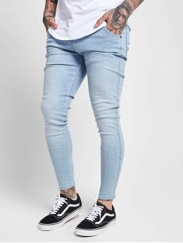 Sik Silk Облегающие джинсы Skinny  синий