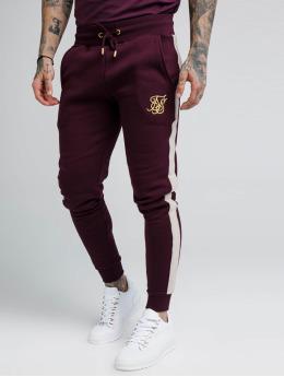 Sik Silk Спортивные брюки Fitted Taped красный