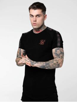 Sik Silk Camiseta Tape Gym negro