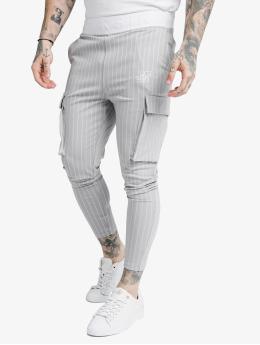 Sik Silk Cargo Dual Stripe šedá