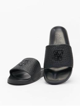 Sik Silk Claquettes & Sandales Croc  noir
