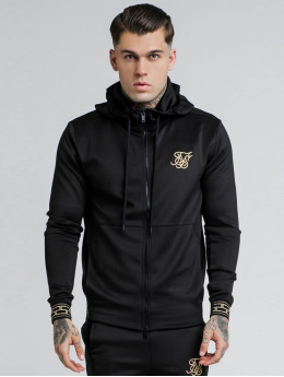 Sik Silk Hoodies con zip Cartel Agility nero