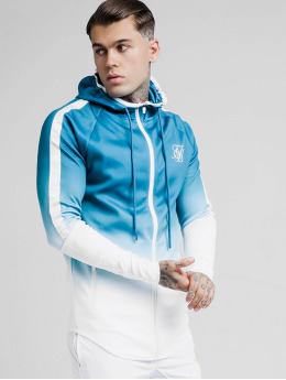 Sik Silk Hoodies Athlete Fade modrý