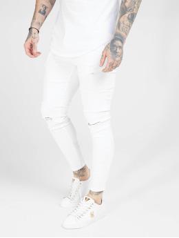 Sik Silk Jean skinny Distressed  blanc
