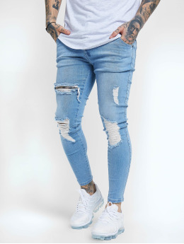 Sik Silk Jean skinny Distressed  bleu