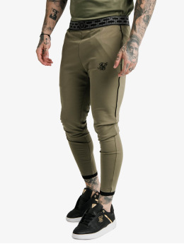 Sik Silk Joggebukser Scope khaki