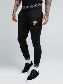 Sik Silk Jogging kalhoty Cartel Agility čern