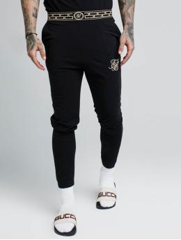 Sik Silk Jogging kalhoty Cartel Lounge čern