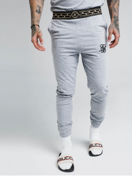 Sik Silk Jogging kalhoty Cartel šedá