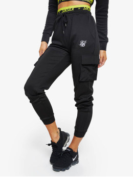 Sik Silk joggingbroek Divergent zwart