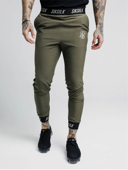 Sik Silk Joggingbukser Pursuit khaki