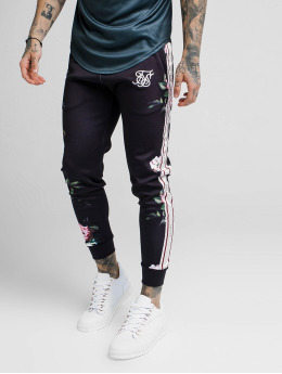 Sik Silk Joggingbukser Oil Paint Cuffed Cropped Poly sort