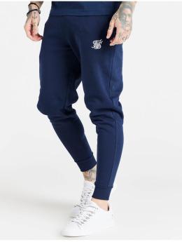 Sik Silk Joggingbyxor Core Fitted  blå