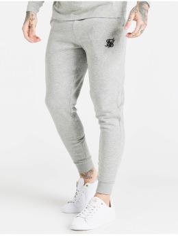 Sik Silk Joggingbyxor Core Cuffed  grå