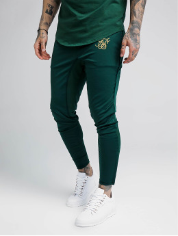 Sik Silk Joggingbyxor Zonal grön