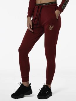 Sik Silk Joggingbyxor Athena Elastic röd