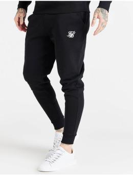 Sik Silk Joggingbyxor Core Cuffed  svart