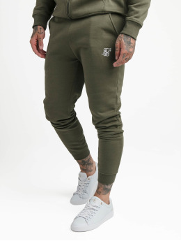 Sik Silk Jogginghose Muscle Fit khaki