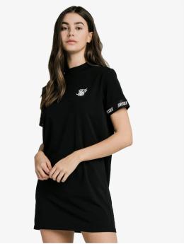Sik Silk Kleid Tech Tape  schwarz