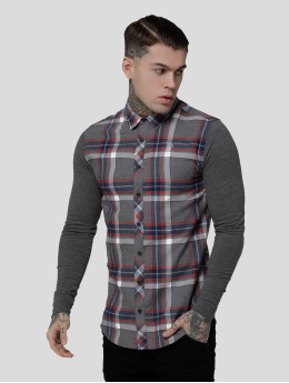 Sik Silk Košile Flannel Standard šedá