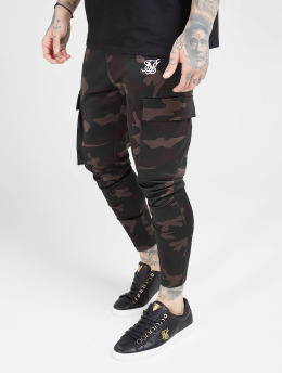 Sik Silk Pantalon cargo Poly Athlete camouflage