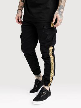 Sik Silk Pantalon cargo Liam noir