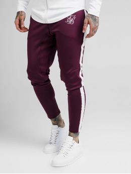 Sik Silk Pantalone ginnico Athlete Tape rosso