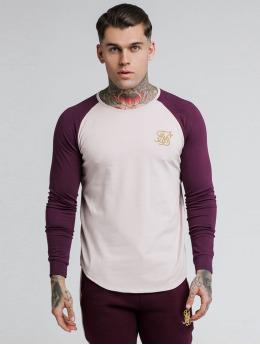 Sik Silk Pitkähihaiset paidat Raglan Gym punainen