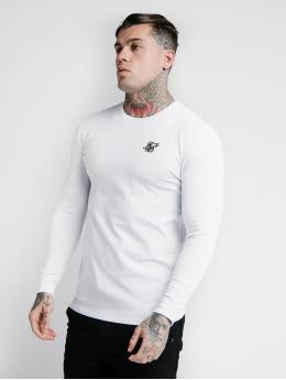 Sik Silk Pitkähihaiset paidat Hem Gym valkoinen