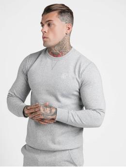 Sik Silk Pullover Crew  grey