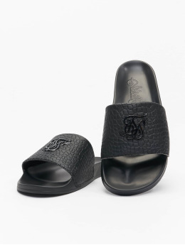 Sik Silk Sandaalit Croc  musta