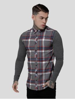 Sik Silk Shirt Flannel Standard grey