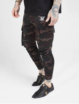 Sik Silk Spodnie Chino/Cargo Poly Athlete moro