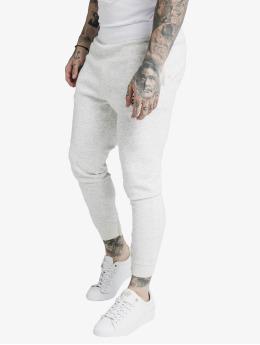 Sik Silk Spodnie do joggingu Agility Textured Tape  bialy
