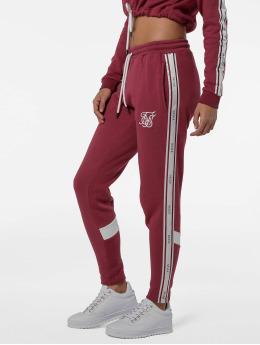 Sik Silk Spodnie do joggingu Logo  pink