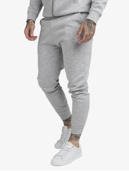 Sik Silk Spodnie do joggingu Muscle Fit szary