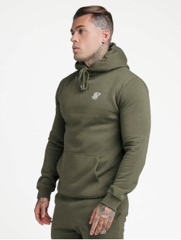 Sik Silk Sweat capuche Muscle Fit Overhead  kaki