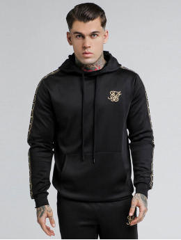 Sik Silk Sweat capuche Cartel Poly Overhead noir