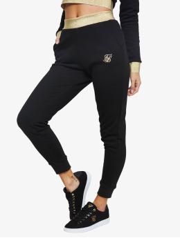 Sik Silk Sweat Pant Taped  black
