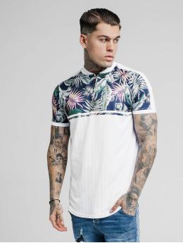 Sik Silk T-Shirt Jeremy Vone Baseball blanc