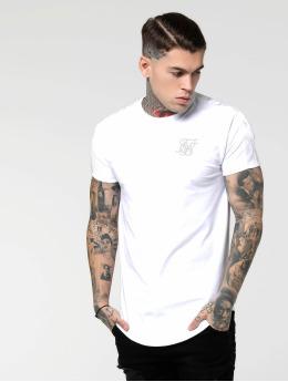 Sik Silk T-Shirt Tape Gym  blanc