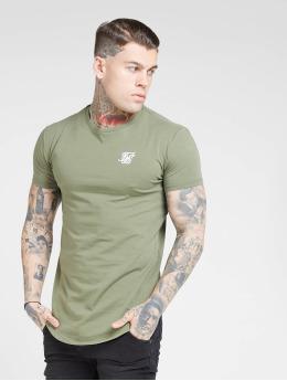 Sik Silk T-shirt Core Gym cachi